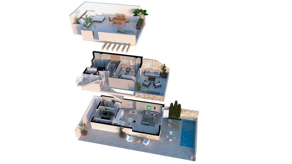 Plan de la villa Synergia à Los Narejos