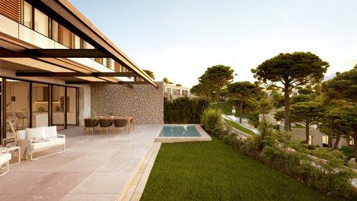 Villa Mourelle à Cala Vinyes à Palma de Majorque